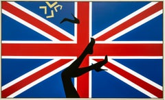 """Kicking up Heels in Great Britain"" Acrylic on canvas Painting by Ty Joseph"