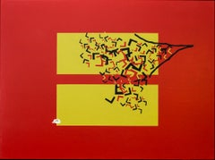 """Equality of Outcome"" Acrylic on canvas Painting 36"" x 48"" inch by Ty Joseph"