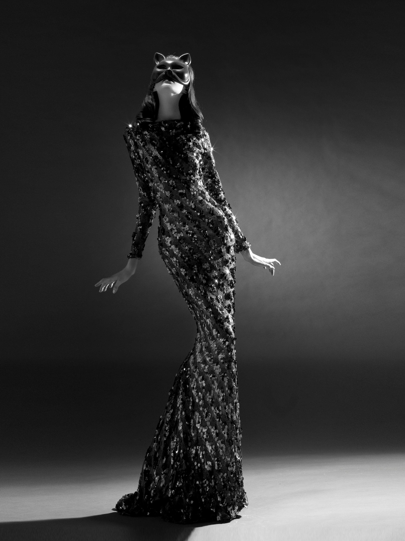 """Film Noir Fashion"" Original Fine Art Print by Viktorija Pashuta"