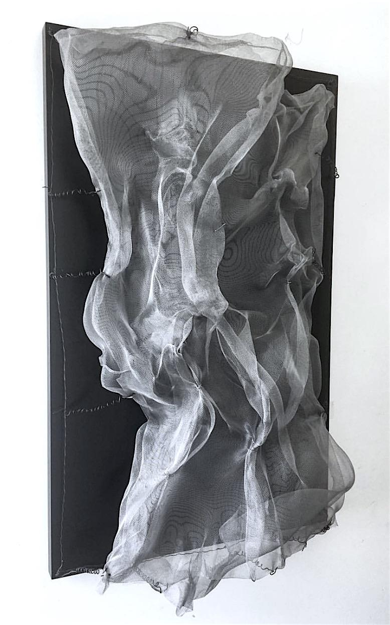 SUPINE WAVES sculpture by Melanie Newcombe