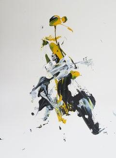 """AB: Untitled 2"" Acrylic painting by Hossam Dirar"