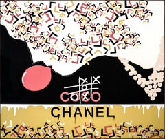 """CHANEL Acrylic on canvas painting by Ty Joseph"
