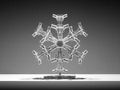 """Snowflake 1"" Sculpture Edition 2/8 by Huang Yulong"