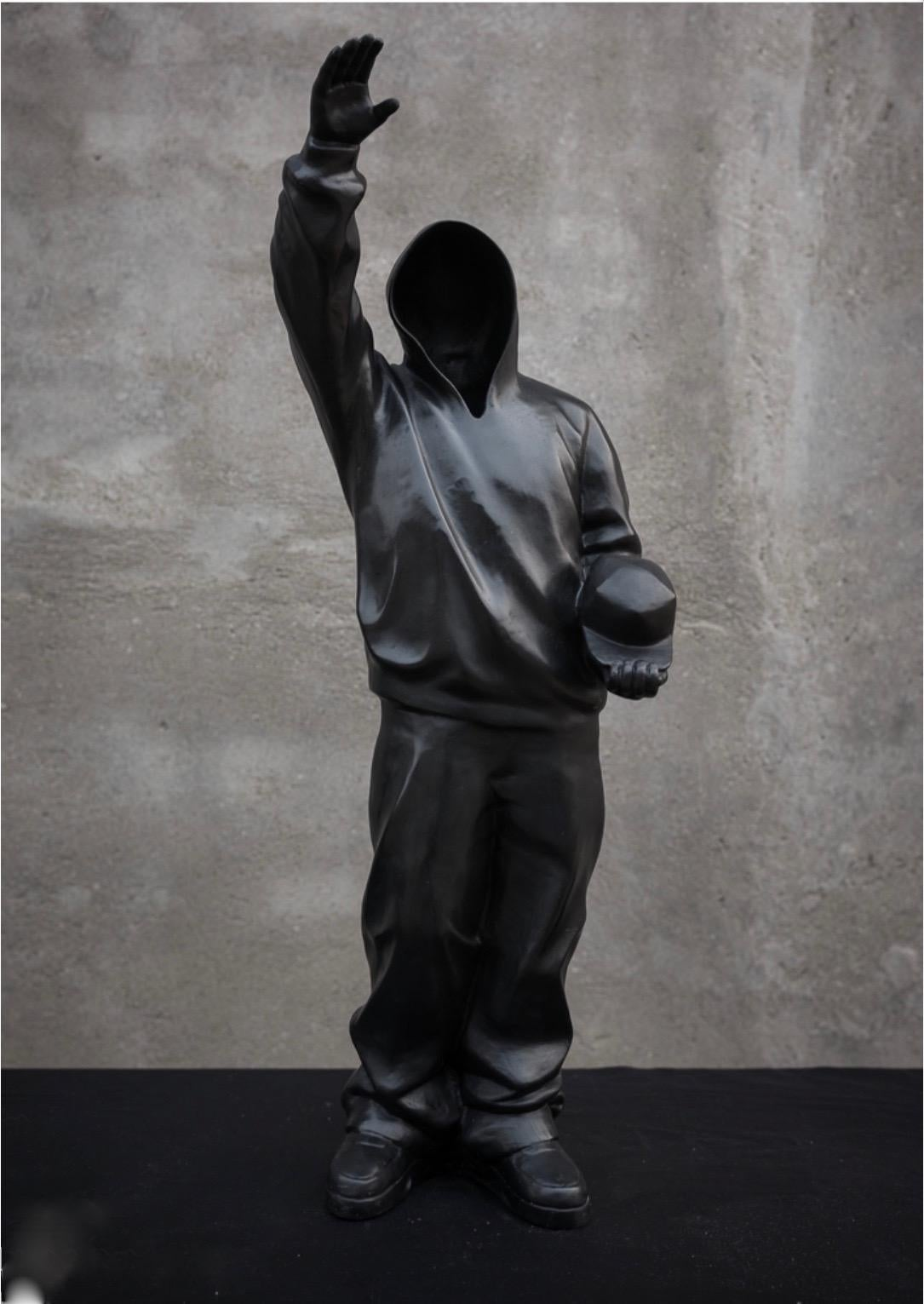 """""""Leader"""" Bronzen Sculpture Edition of 12 by Huang Yulong"""