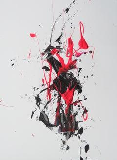 """AB: Untitled 11"" Acrylic painting by Hossam Dirar"