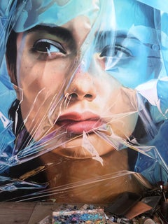 """Beyond Reality"" Oil Painting 59"" x 47 ""inch by Dmitriy Krestniy"