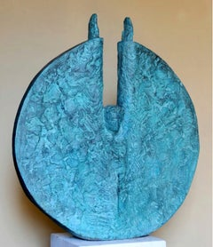 """Freedom III"" Bronze Sculpture 36"" x 32""x 7""inch by Sarkis Tossonian"