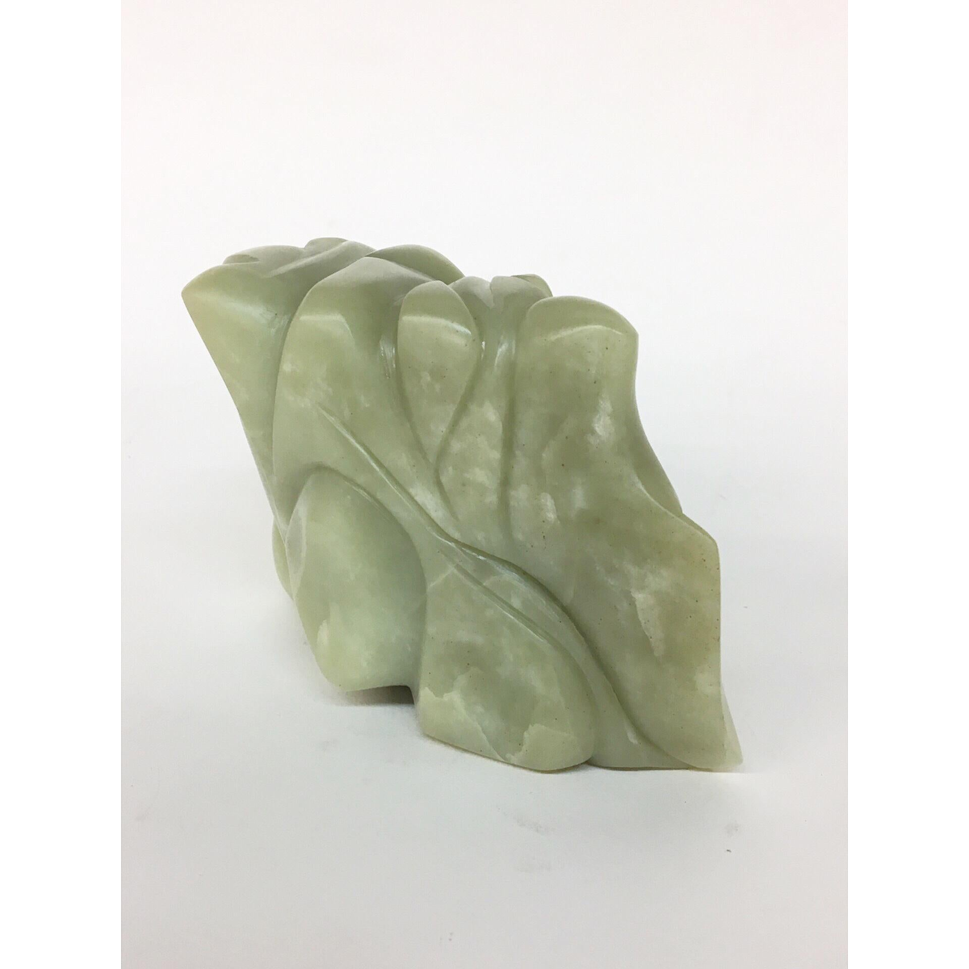TANGLE Soapstone Sculpture 6 1/2 × 4 × 3 inch by Melanie Newcombe