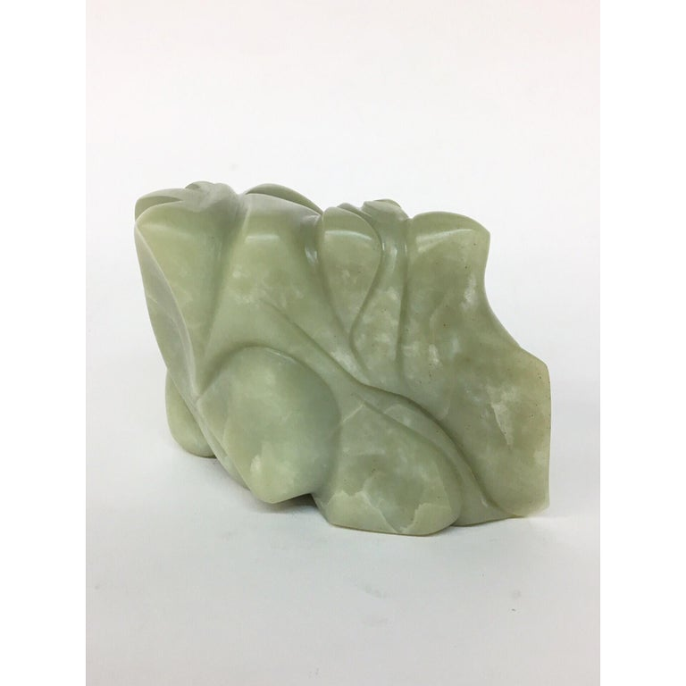 TANGLE Soapstone Sculpture 6 1/2 × 4 × 3 inch by Melanie Newcombe For Sale 8