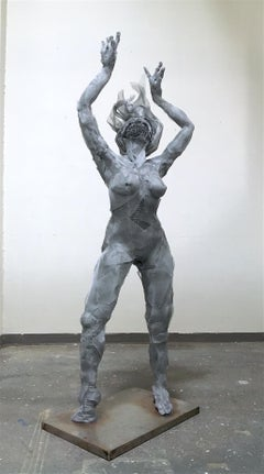 """Athena"" Sculpture 89""x30""x20"" inch by Melanie Newcombe"