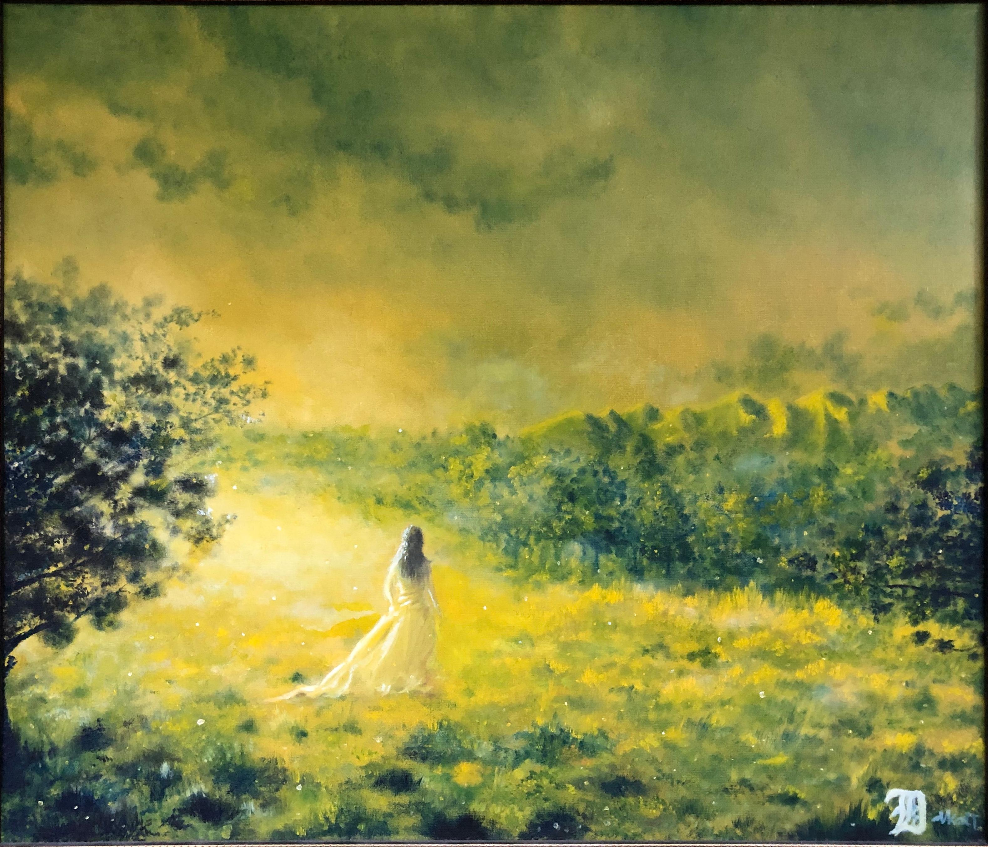 """""""I had a dream last night"""" Oil Painting 24"""" x 28 """"inch by Dmitriy Krestniy"""