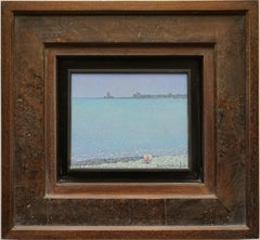 """Heat. Methoni"" Framed: 19"" x 20"" inch Painting by Nikita Makarov"