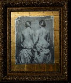 """Sensuality.Twins"" Photography 30""x26"" inch Ed 2/3 by VLADIMIR CLAVIJO-TELEPNEV"