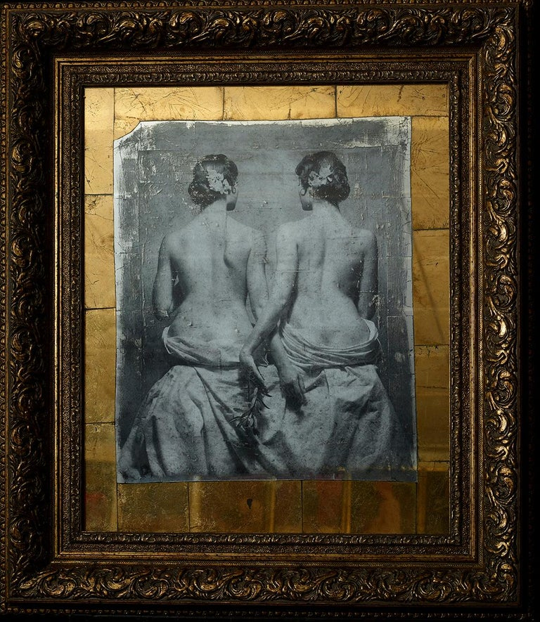 "Vladimir Clavijo-Telepnev Nude Photograph - ""Sensuality.Twins"" Photography 30""x26"" inch Ed 2/3 by VLADIMIR CLAVIJO-TELEPNEV"