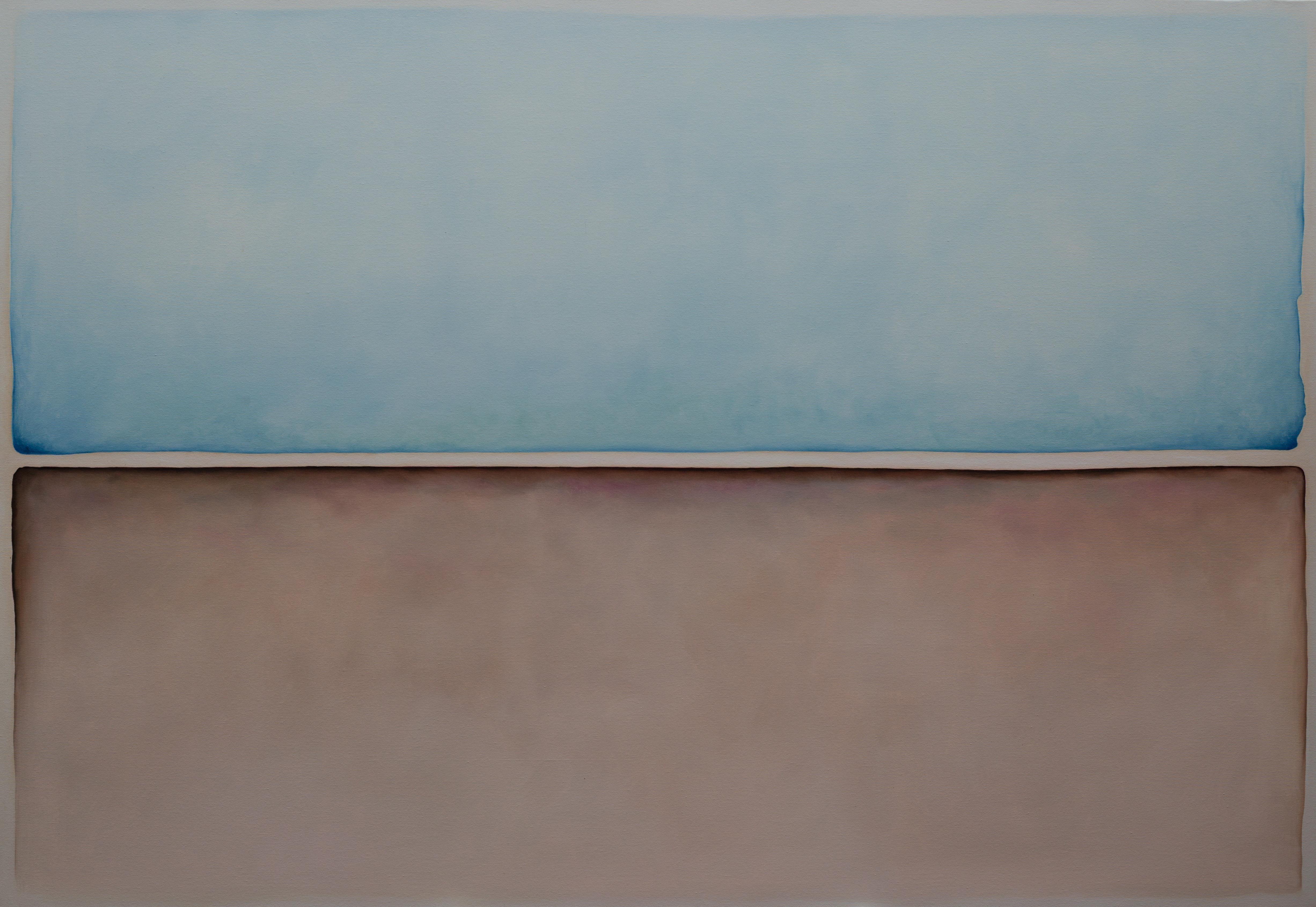 """Untitled 3"" Oil Painting 54"" x 79"" inch by Gayatri Gamuz"