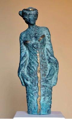 """Mannequine"" Bronze Sculpture 18"" x 7"" x 4"" inch by Sarkis Tossonian"