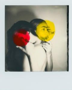 """Pola Girls 3"" Original Polaroid / Unique piece by Larsen Sotelo"