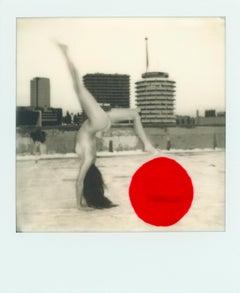 """Pola Girls 5"" Original Polaroid / Unique piece by Larsen Sotelo"