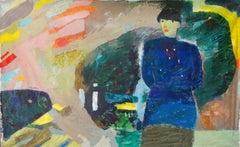 """Marine Life"" Oil Painting 41 ""x 79"" inch by Ashraf Zamzami"