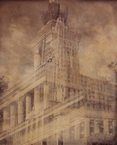 """Empire"" Photography on Wood 29""x25"" inch Ed. 2/3 by VLADIMIR CLAVIJO-TELEPNEV"