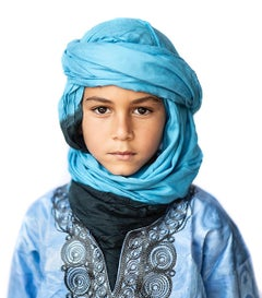 """Moroccan Boy"" Photography 40"" x 36"" inch Edition 1/5 by Safaa Kagan"