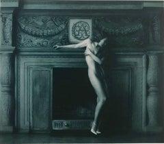 """Renate by Fireplace"" Print 35""x27""in Ed of 15 by VLADIMIR CLAVIJO-TELEPNEV"
