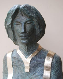 """Sarah"" Bronze Sculpture 18"" x 7"" x 4"" inch by Sarkis Tossonian"