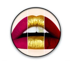 """""""LIPS - L11713"""" Lenticular photo 36""""D Edition of 8 by Giuliano Bekor"""