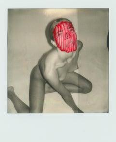 """Pola Girls 17"" Original Polaroid / Unique piece by Larsen Sotelo"
