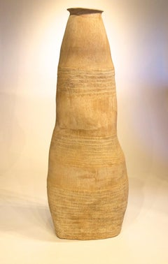 Large Primitive Ceramic Pottery - Low Fired - Sculpture Art