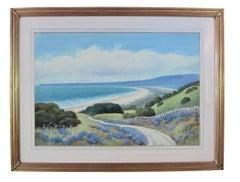 California landscape near Stinson Beach, CA - coastal scene by Edwin Siegfried
