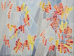 Hildegarde Haas abstract painting from her classical music series