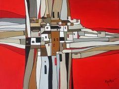 Austrian Contemporary Art by Brigitte Thonhauser-Merk - Village Abstrait