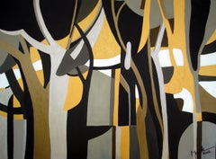 Austrian Contemporary Art by Brigitte Thonhauser-Merk - Forêt en Automne