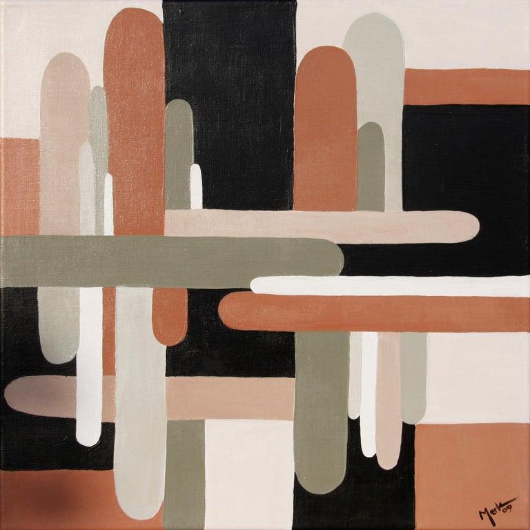 Brigitte Thonhauser Merk Abstract Painting - Petite Abstraction