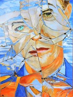 French Contemporary Art by Brigitte Mathé - Beau comme Bowie