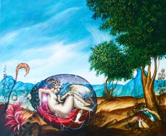 """Cuban Contemporary Art by Carlos S. Perez - From Serie """"Les Creatures d'Adamu"""""""