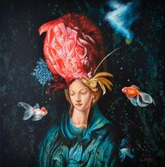Cuban Contemporary Art by Carlos Sablon Perez - Madame Sublime