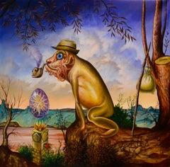 Cuban Contemporary Art by Carlos Sablon Perez - L'Idole