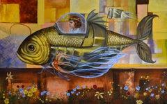 Cuban Contemporary Art by Carlos Sablon Perez - Le Voyage Fantastique II