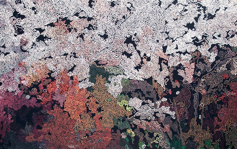 Diana Torje Landscape Painting - A DREAM OF SPRING