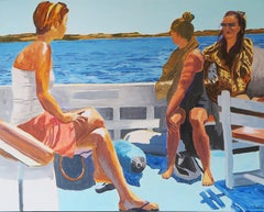 French Contemporary Art by Karine Bartoli - Bateau pour Formentera