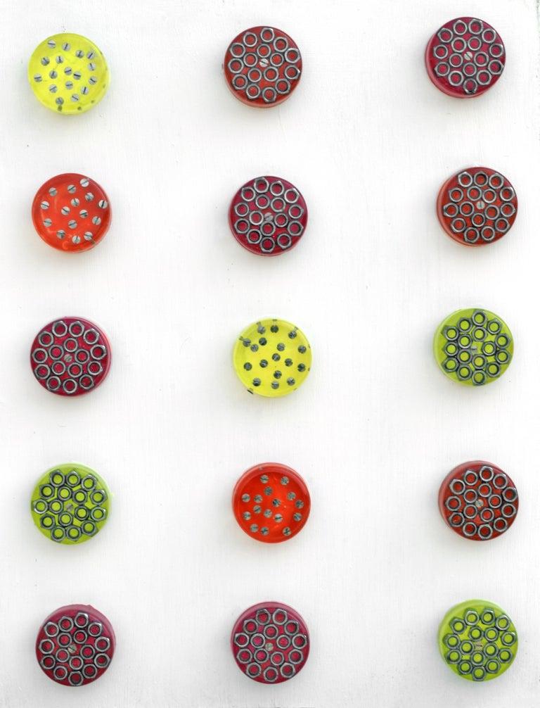 Construct Neon - Mixed Media Art by Sumit Mehndiratta