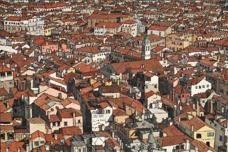 Olivier Lavorel Landscape Painting - 1901 - Venise