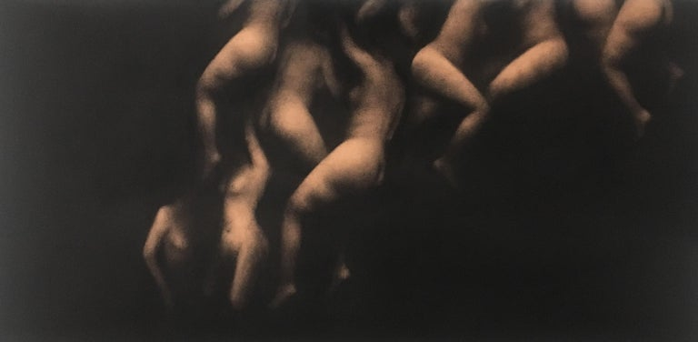 Marina Ho is a French-Vietnamese artist who lives & works between Paris & la Rochelle in France. Born in 1979, she decided to devote her time for painting at the age of 28. She mainly uses charcoal on paper & oil on canvas but only with black