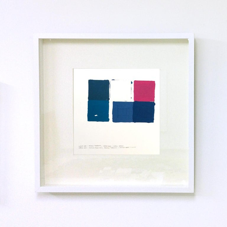 Miki Wanibuchi Abstract Drawing - Untitled, Walking in Tenma Project #034/100