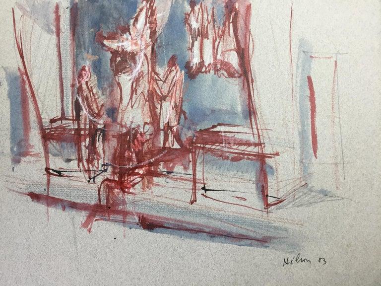 Les Bouchers - Art by Jean Helion