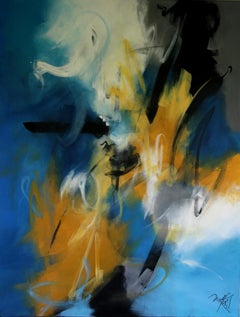French Abstract Contemporary Art by MABRIS - Quelqu'un m'a Dit