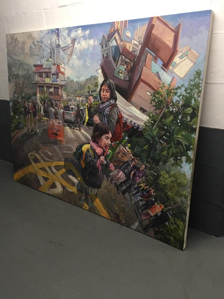 Detour - Painting by Benjamin Duke