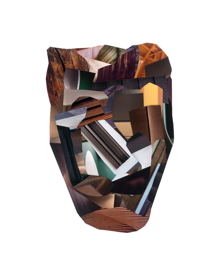 Dubuffet's Way - Contemporary Mixed Media Art by Gysin Broukwen
